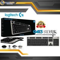 Logitech G413 Silver Keyboard Gaming Backlit Mechanical Original