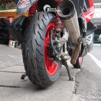 Bridgestone Battlax Bt 39 110/80-14 dan Battlax Sc 140/70-13 Ban ADV