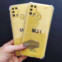 Case Samsung M31 Anti Crack Case Casing soft case Anticrack casing