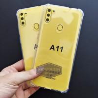Case Samsung A11 Anti Crack Case Casing soft case Anticrack casing