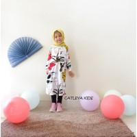 Baju Tunik Casual Anak Perempuan Mirabel Series motif Kaktus Besar