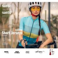 Baju Sepeda Wanita Santic - Women Cycling Jersey - L0C02158