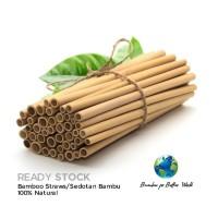 Sedotan Bambu Bamboo Straw Bersih Ramah Lingkungan