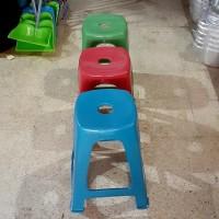 Bangku/Kursi tinggi plastik murah/Bangku baso