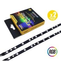 Armaggeddon Infineon Aurora+ RGB LED Strip for PC Case Mod - 2 Strip