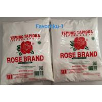 Tepung Tapioka (Tepung Kanji) ROSE BRAND 500 gr