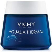 Vichy Aqualia Thermal Night Spa Cream and Face Mask with Hyaluronic Ac