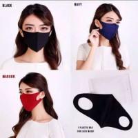 Masker skuba premium ready banyak pilihan warna - Hitam