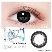 Softlens X2 Bio Black Shakyra Original Made In Korea min 6.25
