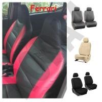 Seat Cover - Sarung Jok Mobil Bahan Ferrari All New Ertiga 2018 Disko
