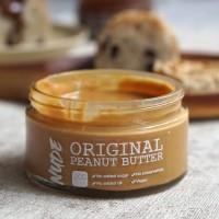 NUDE Original Peanut Butter Organic 200g - Selai Kacang Unsweetened