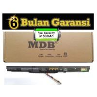 MDB Baterai Laptop ASUS ROG GL553, L553, GL553VW, GL553VD, GL553VE