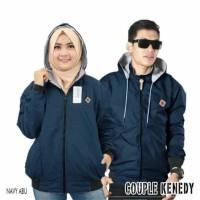 Jaket Couple Pria Wanita Baju Kapel Pasangan Jaket Parasut Bolak Balik