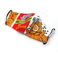 Masker kain anti air nyaman IGOR untuk pecinta mie goreng instant