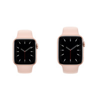 APPLE WATCH SERIES 5 GOLD ALMNIUM CASE 44MM SPORT BAND PINK SAND MWVE2