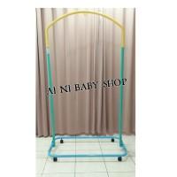 Tiang Ayunan Bayi Portable Warna Warni (TIANG+RODA)