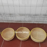 keranjang bambu/ayakan/saringan kuping L