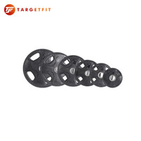 Iron Bull 4-Grips Olympic Rubber Weight Plate 5KG 1pcs