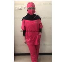 Baju Operasi (Baju OK) Baju Scrub Dua Saudara - L