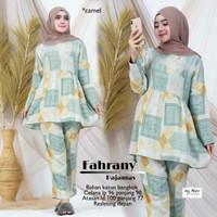 Piyama Wanita Muslimah Terbaru Fahrany Pajamas Cotton Bangkok Premium