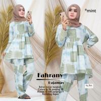 Super Brand Fest Piyama Wanita Muslimah Terbaru Fahrany Recommended HQ