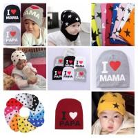 topi kupluk bayi bahan wool tebal import soft dan anti bakteri
