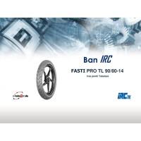 BAN IRC TUBELESS FASTI PRO 90/80 RING 14