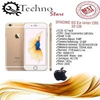 IPHONE 6S 32 GB SECOND Ex inter ORI MURAH FULL SET (MULUS 98%)