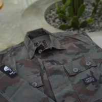Badger Invaders NIGHT SOL CAMO OUTER JACKET