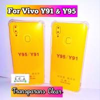Case Vivo Y91 / Y95 Soft Case AntiCrack Jelly Transparans
