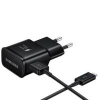 BLACK MICRO USB CHARGER SAMSUNG FAST CHARGING QC 3.0