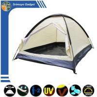 Tenda Camping Double Layer Bahan Polyester Tahan Air