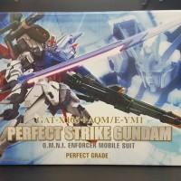 PG 1/60 Perfect Strike Gundam OMNI Enforcer Mobile Suit MIB Bandai