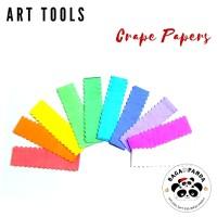 Kertas Krep Potong / Crape Paper / Crepe Paper Potong