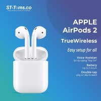 Apple AirPods 2 (2nd Gen) With Charging Case (MV7N2ID/A )