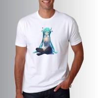 T Shirt Baju Kaos Distro Hatsune Miku Sweeties O7073