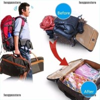 Space Saver Vacuum Storage Bag Dustproof Clothes Quilts Organiz