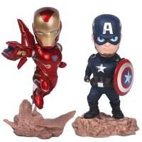 Action Figure Avengers 3 Iron Man mk50 Captain America untuk Koleksi