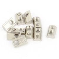 10Pcs 20 Series M5 Slide In Ball Per Slot Nut 13.6mm x8.5mmx4.3mm