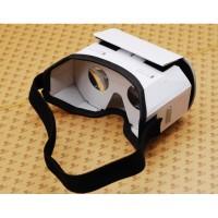 Cardboard Kacamata Virtual Reality 3D Google VR Box untuk Smartphone