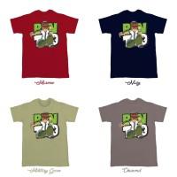 Kaos Baju T Shirt Distro Ben 10 L2245