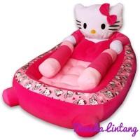 Dijual Kasur Bayi Plus Bantal Guling Karakter Hello Kitty Berkualitas