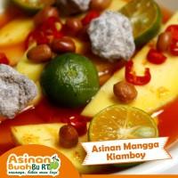 Asinan Mangga Kiamboy (400 gr) – Asinan Buah Bu RT