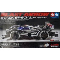 Tamiya Mini 4WD Blast arrow Black Special MA Chassis 95020
