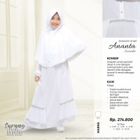 Rabbani Dresslim Gamis Baju Muslim Anak Sarimbit Ananta