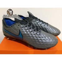 Sepatu Bola - Soccer Nike Tiempo Legend 8 Elite Black Blue Hero - FG