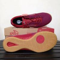 Sepatu futsal specs metasala rival Chestnut red 400727 original Disko