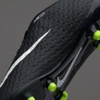 Sepatu Bola Soccer Original Nike Hypervenom Phelon III FG Hitam