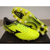 Sepatu Bola - Soccer Mizuno Morelia Neo II Leather Yellow - FG Diskon
