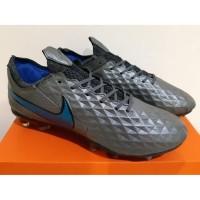 Sepatu Bola - Sepatu Soccer - Nike Tiempo Legend 8 Elite Black Blue